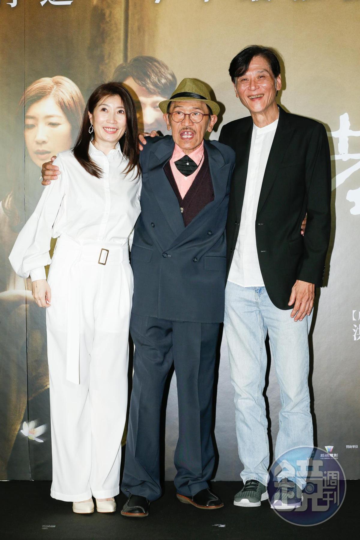 去年小戽斗身體狀況已不太好,但他仍賣力宣傳電影《老大人》。
