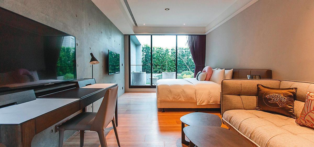 護理之家的房間豪華舒適,不說還以為是渡假飯店。(翻攝自護理之家臉書)