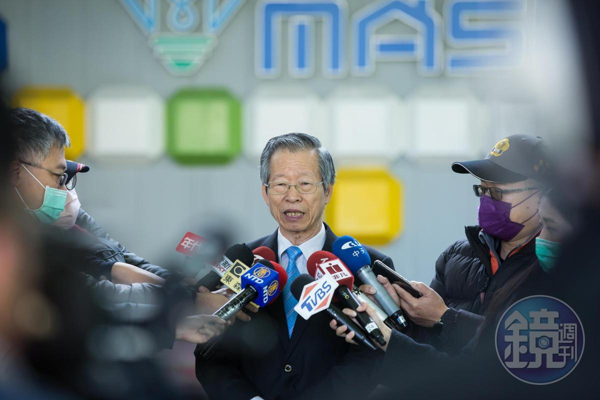 武漢肺炎爆發後,鄭永柱幾乎每天都有媒體採訪。