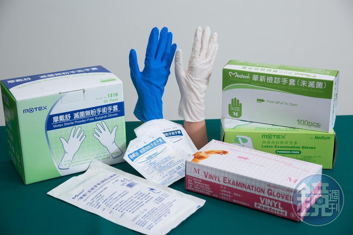 早期華新以醫用手套起家,至今市佔率仍是台灣前三大。