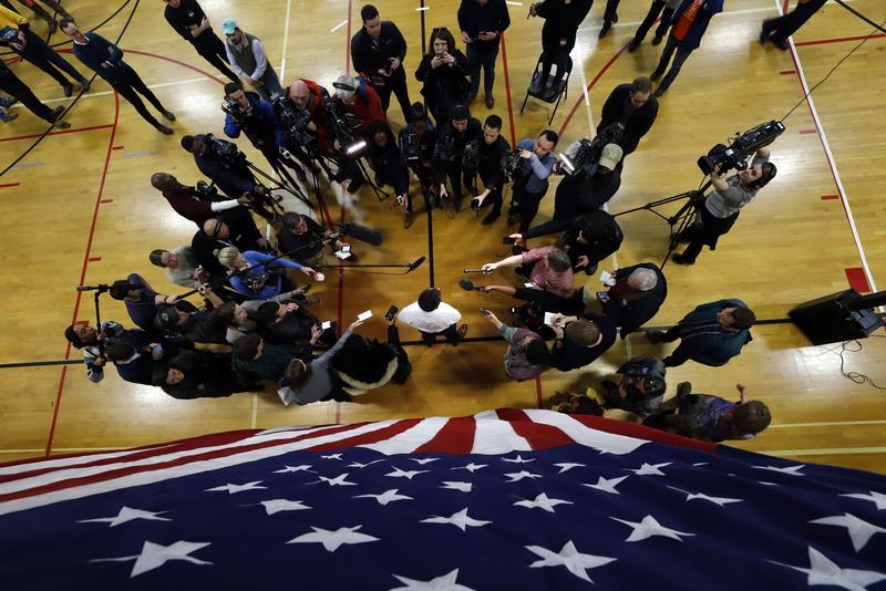 愛荷華州的黨團會議代表美國2020總統大選初選正式起跑。(東方IC)