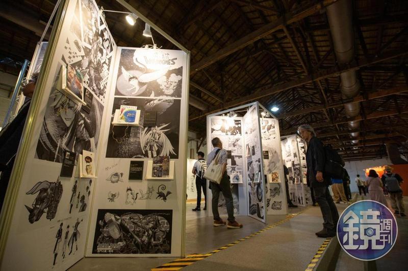 將邁入第四屆的「台灣漫畫節」因未獲今年前瞻計畫補助,主辦人賴有賢宣布停辦。圖為去年漫畫節的場景。