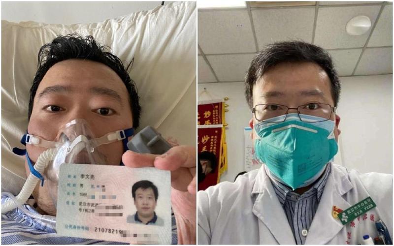 武漢肺炎「吹哨人」李文亮醫師病逝後,引發中國網友群起激憤。(翻攝自微博)