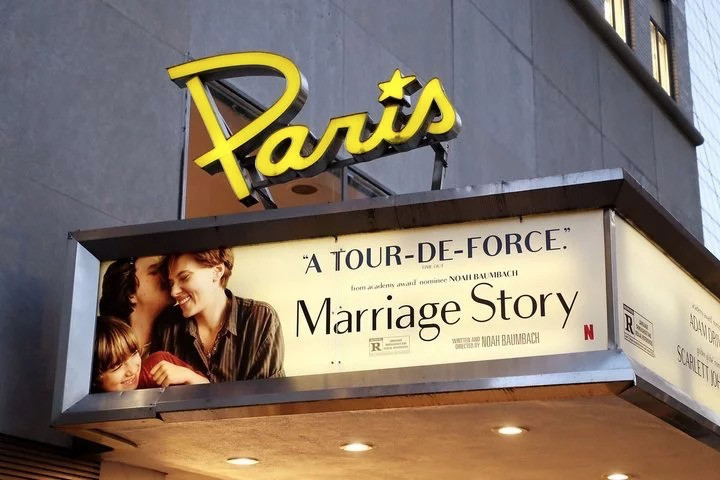 Netflix接手紐約一家戲院,專門放映自家出品的電影。(翻攝自官方twitter)