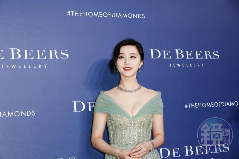 范冰冰與未婚夫李晨的4年戀情,因捲入逃漏稅風波而宣告分手。圖為資料照。