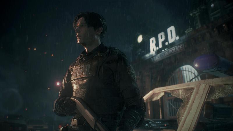 卡普空在Steam舉行特賣會,不少大作祭出折扣。圖為《惡靈古堡2:重製版》遊戲宣傳圖。(翻攝Steam)