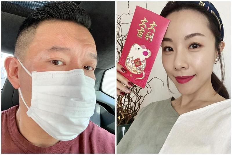 杜汶澤透露香港金像獎準影后鄧麗欣相當關心香港首武漢肺炎的影響,讓網友稱讚鄧麗欣人美心善。(翻攝自杜汶澤臉書、鄧麗欣臉書)