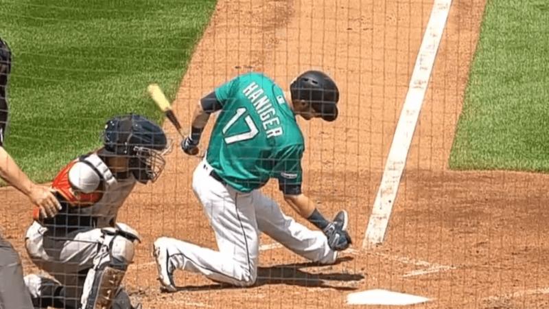 海尼格去年因擦棒球導致睪丸破裂,明星球員報廢了一季賽事。(翻攝自大聯盟官網)