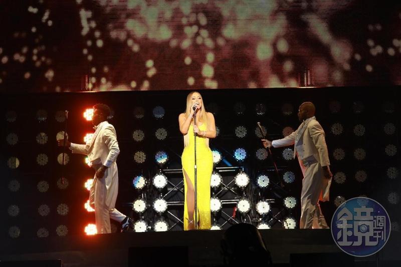瑪麗亞凱莉2018年10月曾來台開唱,吸引7,000名粉絲朝聖。(本刊資料照)