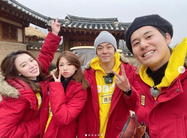 曾智希、姚元浩日前上《綜藝玩很大》飛往南韓出外景,沒想到節目播出後,2人因為在節目中狂開隊友風田玩笑,竟意外被網友罵翻。(翻攝自曾智希IG)