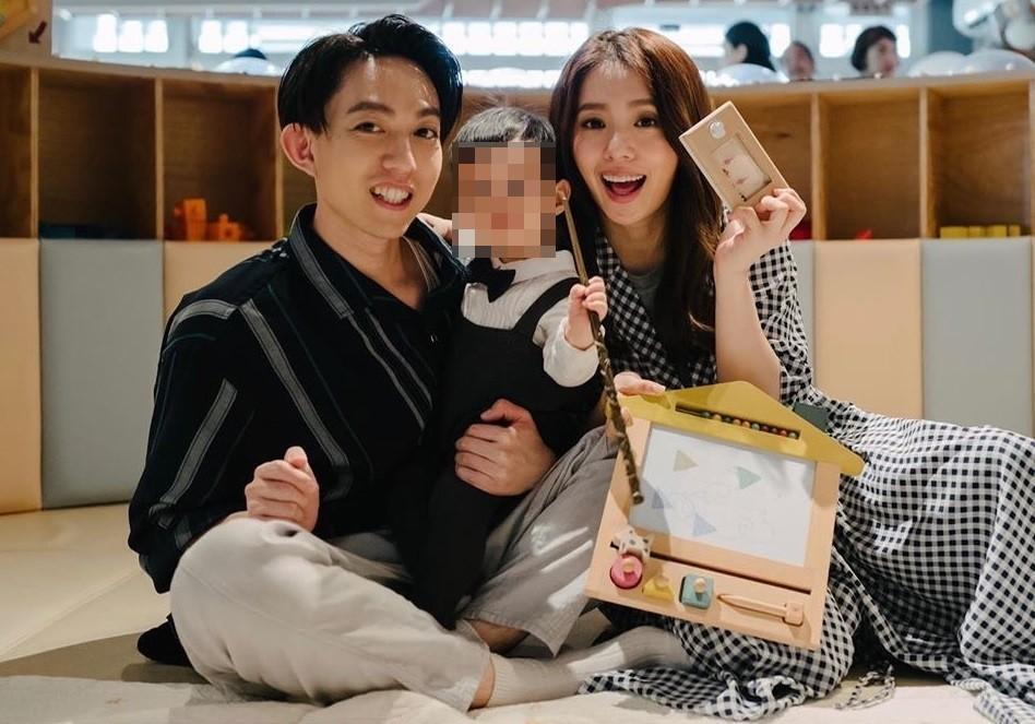 丁文琪嫁給林宥嘉2年多,2人目前生有一子酷比。(翻攝自丁文琪臉書)