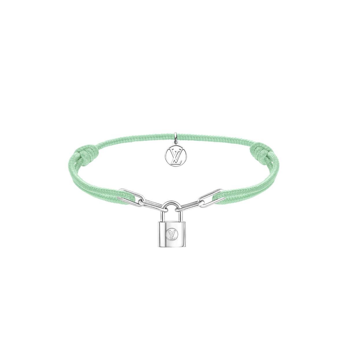 青瓷綠Silver Lockit。NT$13,500(路易威登提供)