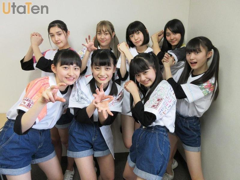 日本9人偶像女團「東北産」成員皆來自東北地區。(翻攝自https://utaten.com)