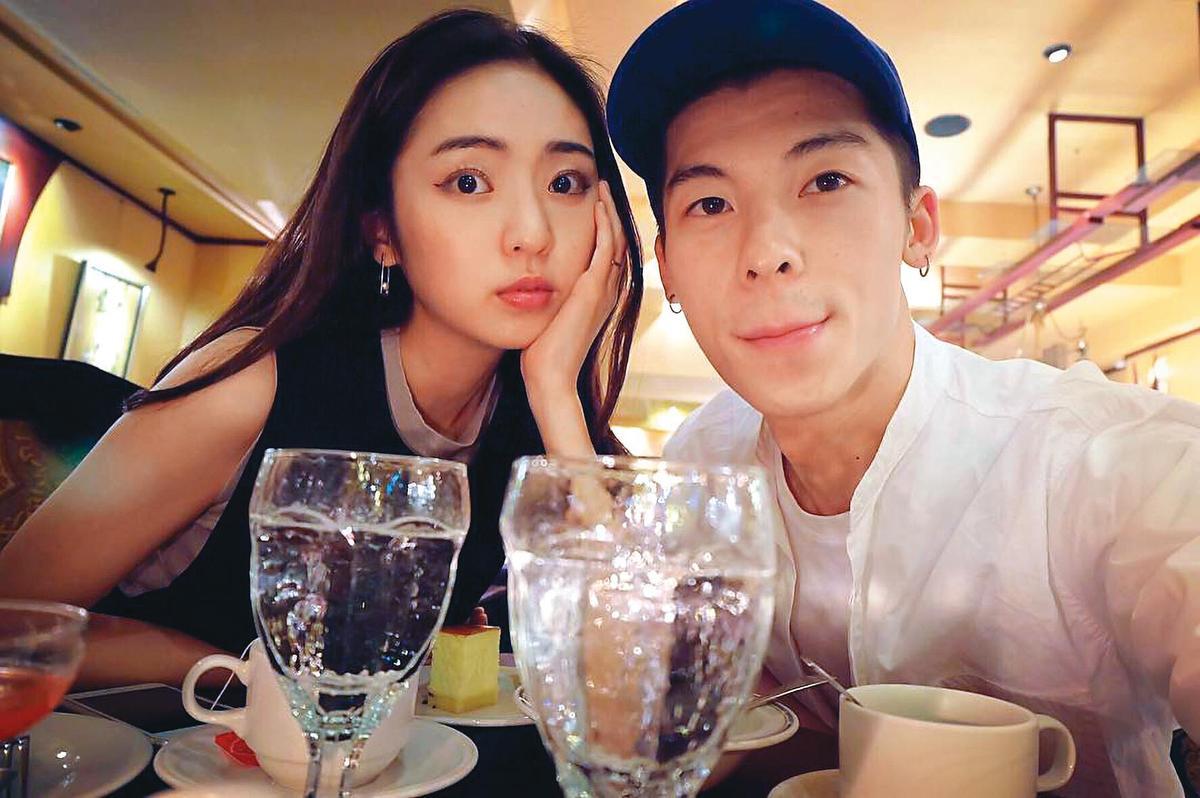 儘管已分手2年半,許光漢(右)前女友簡婕(左)的IG仍保有兩人以往的甜照,令粉絲頗有微詞。(翻攝自簡婕臉書)