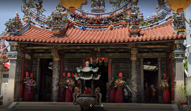 台南大觀音亭興濟宮取消舉辦「春祭大典」。(翻攝自Google Map)