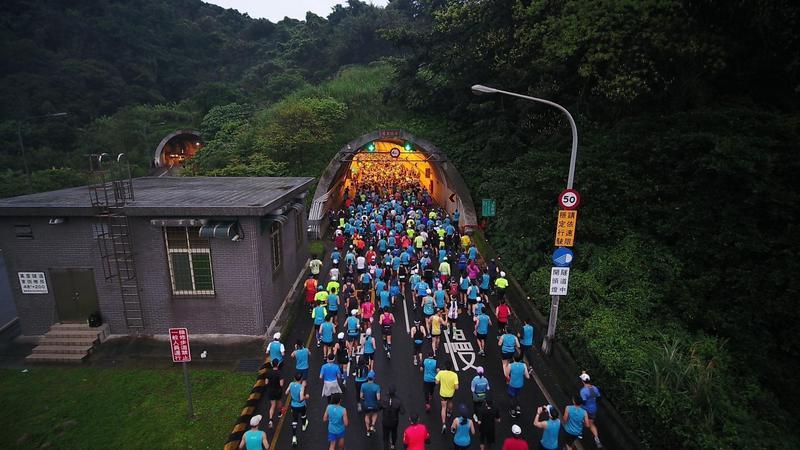 新北市府宣布停辦今年萬金石馬拉松。(翻攝自新北市萬金石馬拉松臉書)