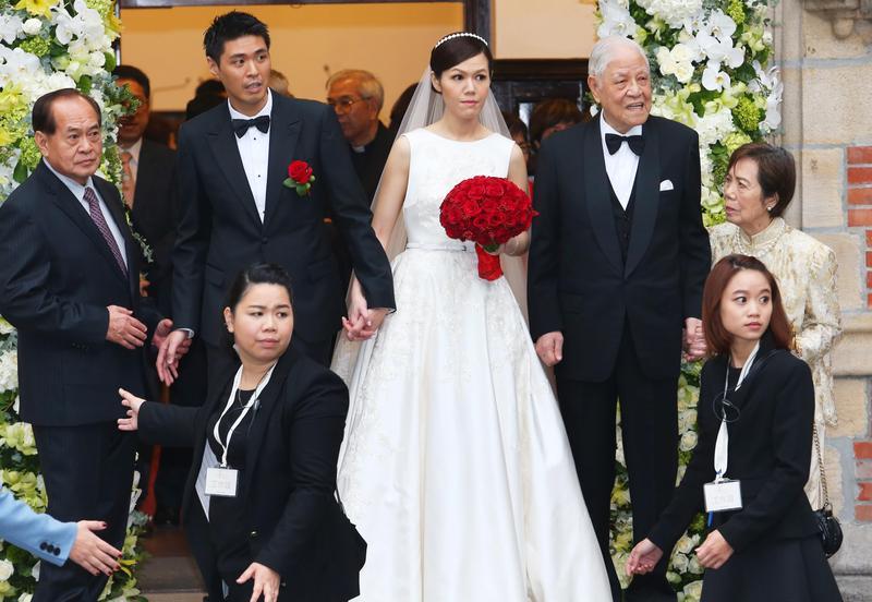 孫女李坤儀2015年與凱渥香港分公司總經理趙贊凱結婚,讓當時高齡已92歲的李登輝一償夙願。(聯合知識庫)