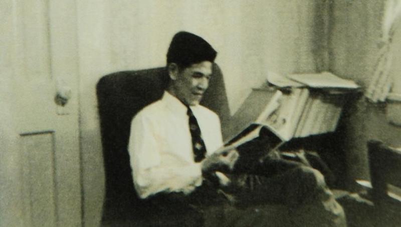 李登輝生前熱愛閱讀,曾公開住處近萬冊的藏書。(李登輝基金會提供)