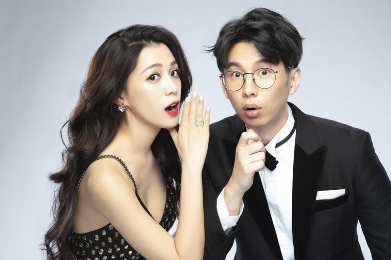 王思平閃嫁交往一年的牙醫老公李世偉。(日出工作室提供)