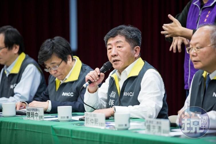 疫情指揮中心指揮官陳時中表示,北市65歲、38歲發燒猝死的案例,經採檢後皆為陰性,與武漢肺炎無關。(本刊資料照)