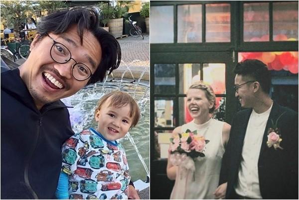2011年成員之一的小馬退團轉往幕後,消失螢光幕9年,現在已經結婚生子,老婆還是英國美女。(翻攝自KID、小馬IG)