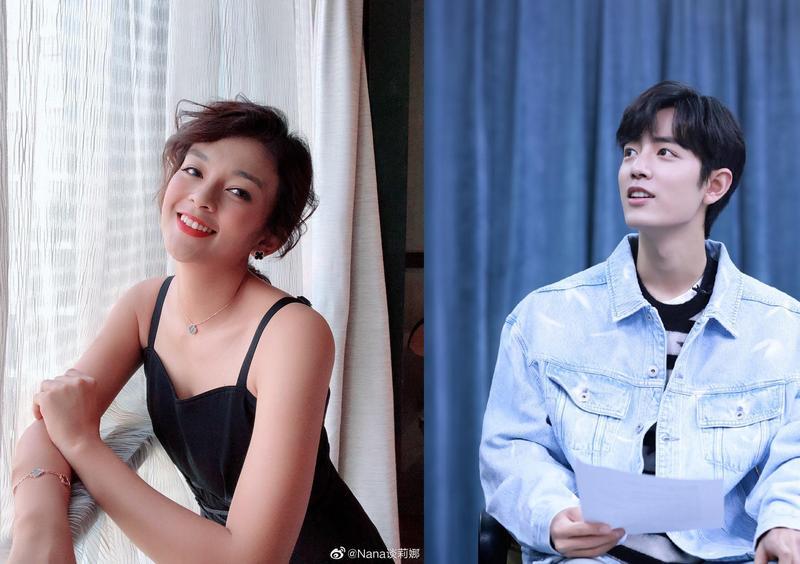 中國男星肖戰出道前曾批評混血女星談莉娜的外表,被粉絲要求道歉。(翻攝自談莉娜、肖戰工作室微博)