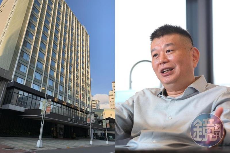 華王大飯店去年熄燈,鄭欽天接手後打算拆除改建景觀宅。(左圖為東方IC提供)
