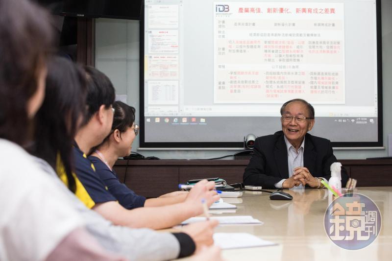 郭聰田鼓勵員工創新,他經常找同事跨部門腦力激盪,為公司創造更多可能性。