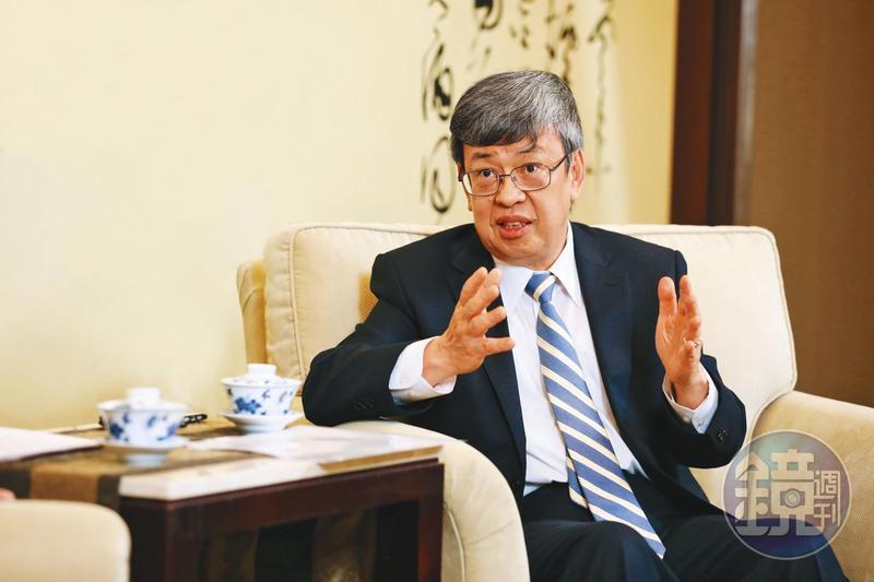 副總統陳建仁接受本刊專訪,直指WHO這次全球防疫失控關鍵在於未洞燭機先。