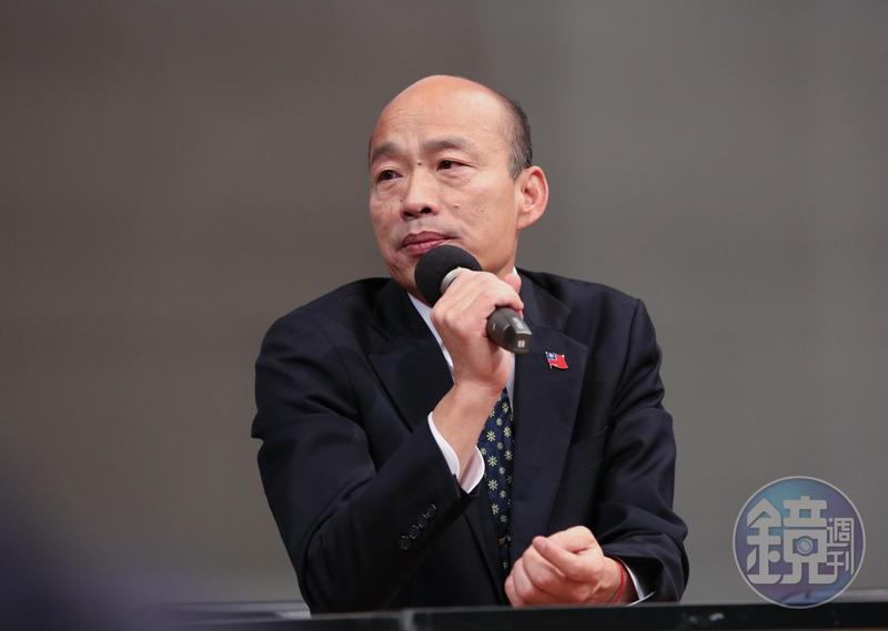 韓國瑜今日拋出香港村,歡迎香港人移民至高雄。(本刊資料照)