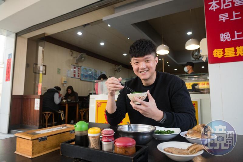 來自新加坡的台中「JL Studio」主廚林恬耀直到吃了「鮮魚鱻」,才喜歡上台灣名產虱目魚。