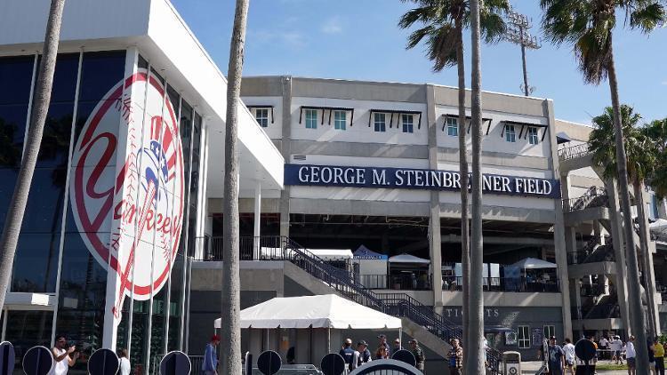 洋基一名小聯盟球員確診感染新型冠狀病毒,成為美國職棒首例確診個案。(翻攝自推特)