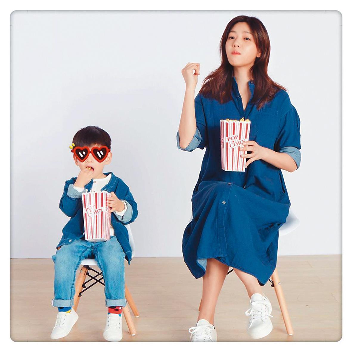 陳妍希愛在社群網站上曬出與兒子小星星的日常。(翻攝自陳妍希IG)