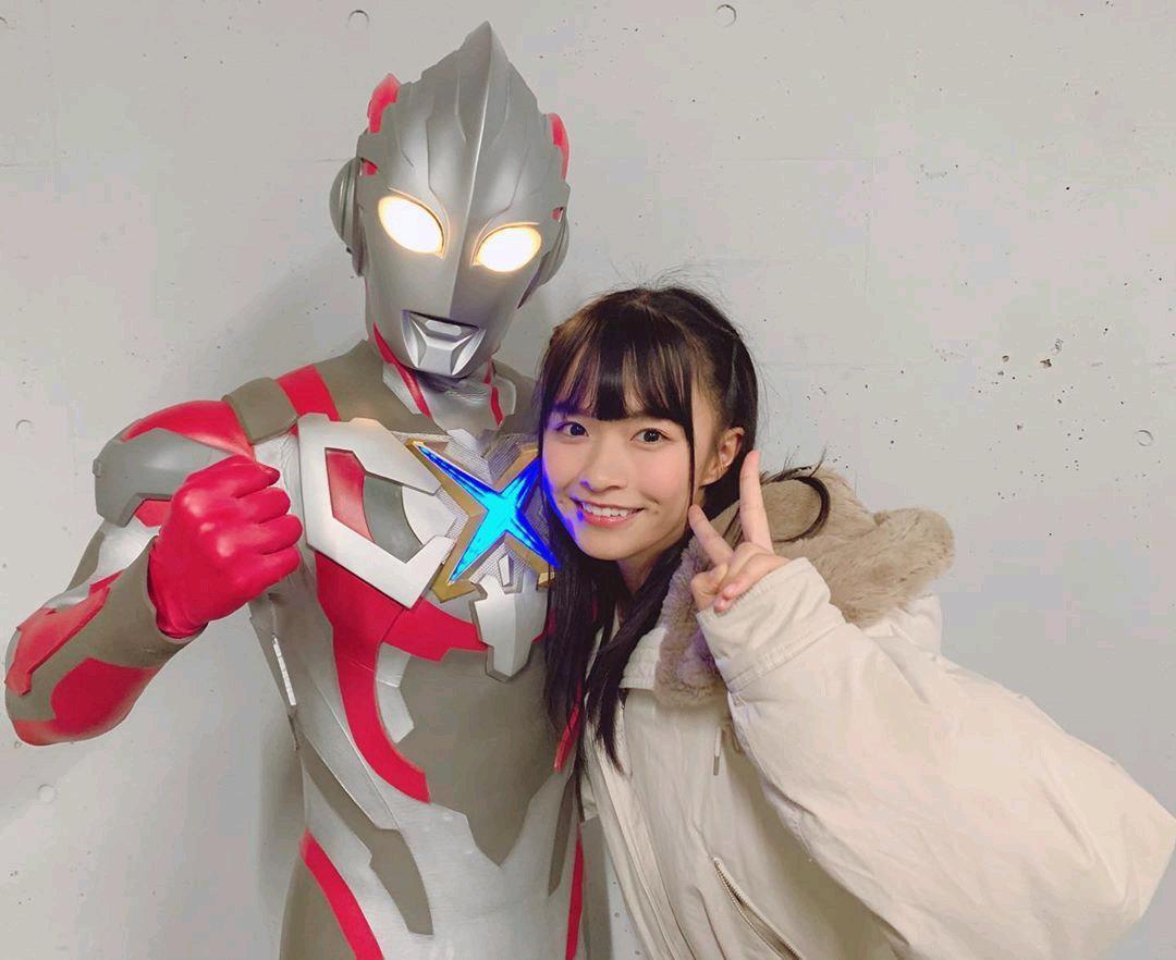 百川晴香因為演出《超人力霸王》系列受注目。(網路圖片)