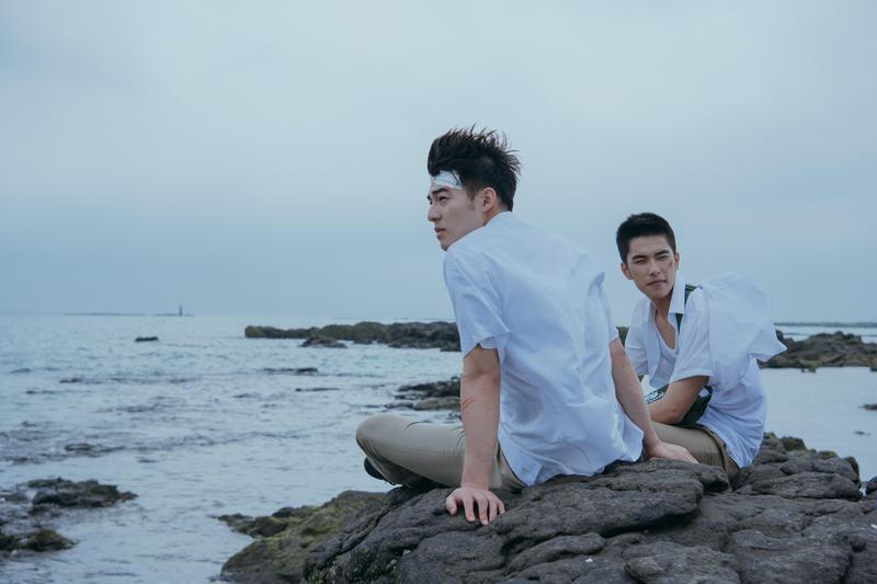 由曾敬驊、陳昊森主演的《刻在你心底的名字》日前在大阪亞洲電影節首映。(氧氣電影提供)