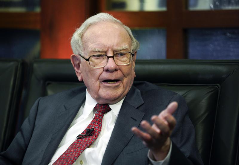 股神巴菲特表示,2008年金融海嘯比現在更加可怕。(東方IC)