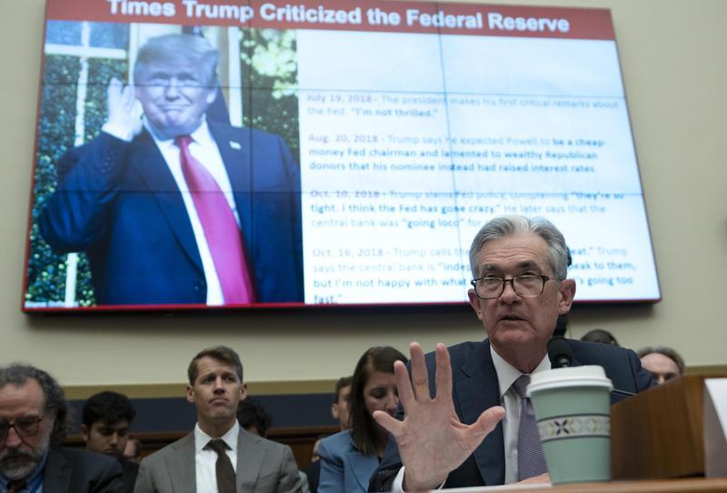美國聯準會緊急宣布降息4碼,基準利率降至接近0,還啟動7,000億美元救市計畫。(東方IC)