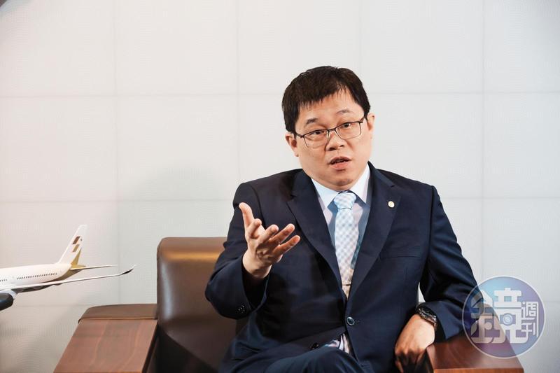 星宇航空董事長張國煒(圖)獲父親張榮發預立遺囑指定獨得所有遺產。