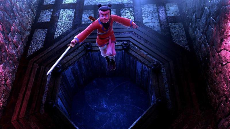 3D動畫《英雄的英雄》以新技術、新形式,重現半世紀前出版的漫畫《諸葛四郎》。(童年漫畫提供)
