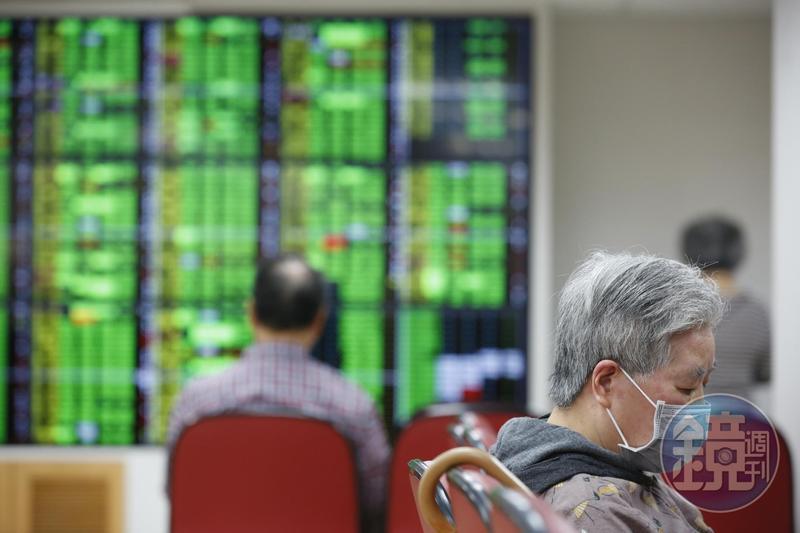 全球股市動盪不安,台股也一片慘綠。