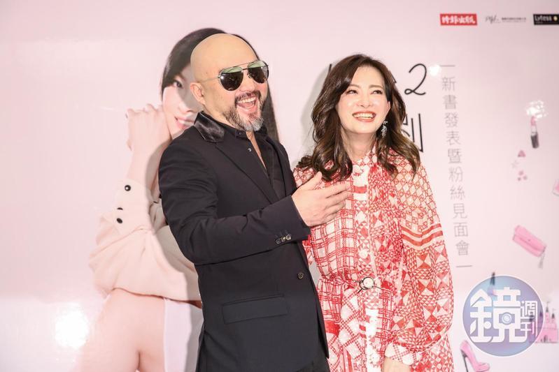 劉真與辛龍婚後生活甜蜜,辛龍說娶到劉真就像中樂透一樣。(本刊資料照)