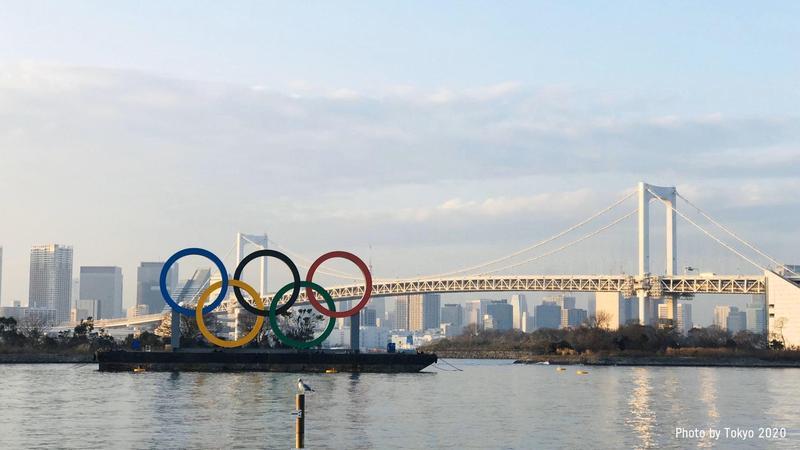 2020東京奧運是否能夠如期舉行,外界看法不一。(翻攝自 Tokyo2020 推特)