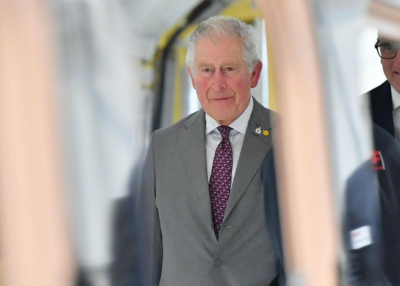 英國皇室證實71歲王儲查爾斯王子(Prince Charles)確診武漢肺炎。(東方IC)