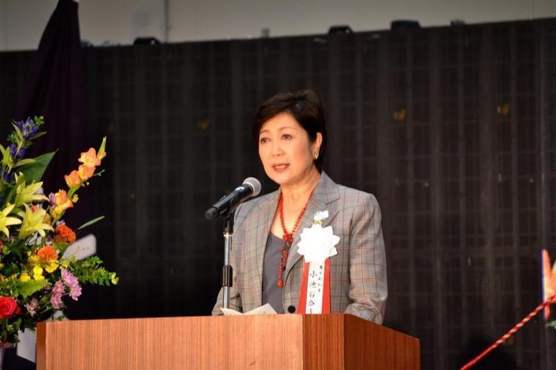 東京都知事小池百合子昨晚召開記者會,要求東京民眾盡可能在家上班,晚上也不要出門,週末避免外出。圖為資料照。(翻攝自小池百合子臉書)