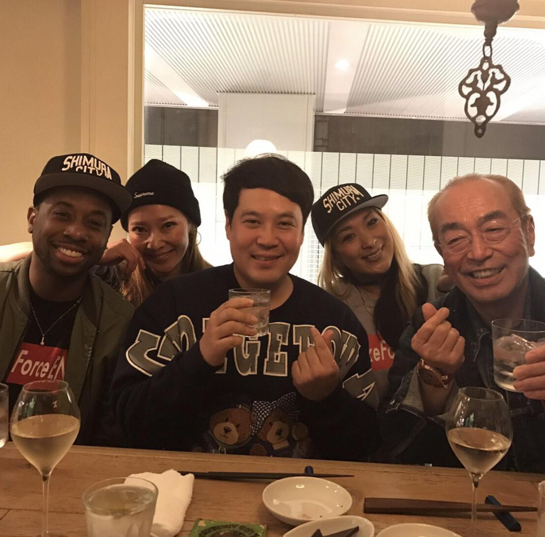 志村健喜好喝酒,喜歡演藝圈晚輩到處喝。(翻攝自志村健IG)