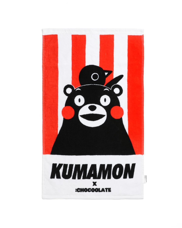 : CHOCOOLATE x KUMAMON印花圖案毛巾 NT$499( : CHOCOOLATE提供)