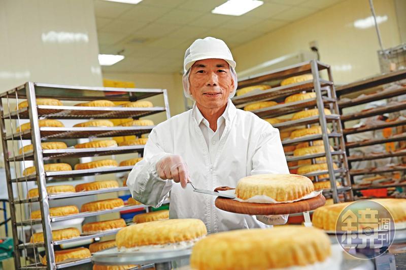 廖憲平1990年接手豐喜食品,從製造布丁開始,之後切入千層蛋糕市場,引起風潮。