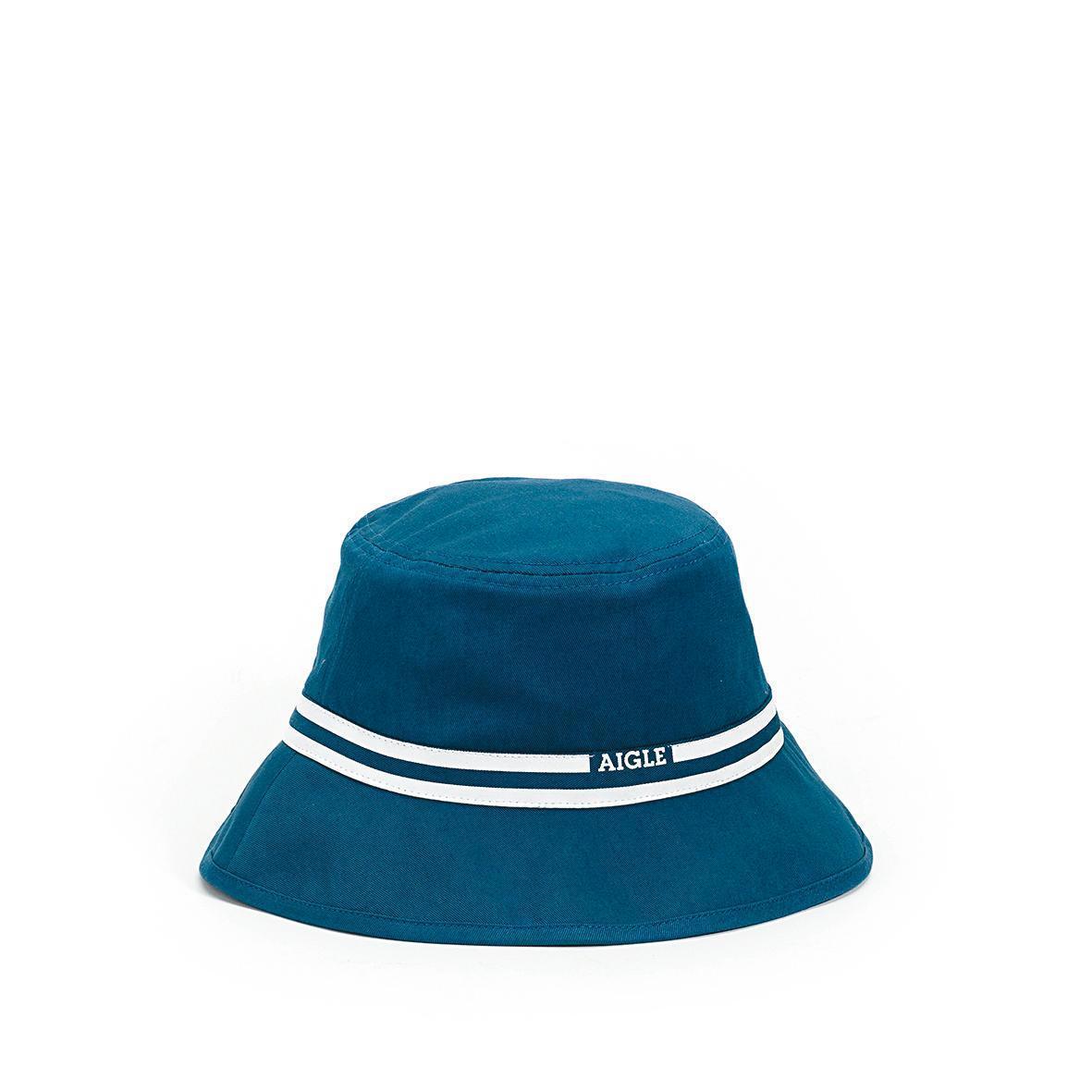 藍色中性款棉質休閒圓盤帽。NT$1,280