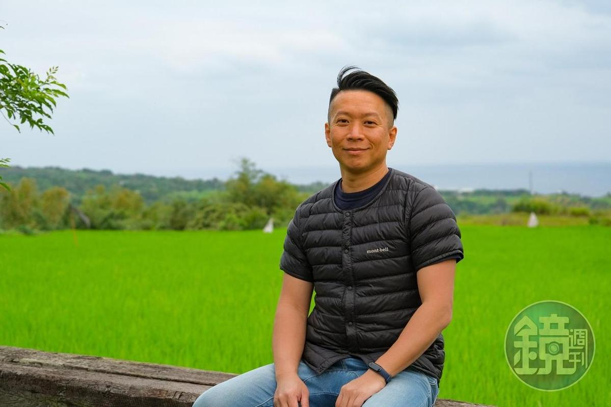 張智翔的斜槓人生,既是農夫也是露營地營主和餐飲老闆。