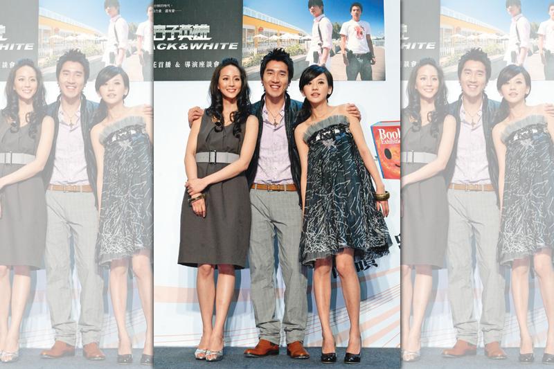 因為11年前拍攝《痞子英雄》而結緣的陳意涵(右起)、趙又廷和張鈞甯,後來傳出當時3人曾有感情糾葛。(東方IC)